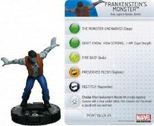 Marvel Heroclix Amazing Spider-Man Monstruo de Frankenstein's #010