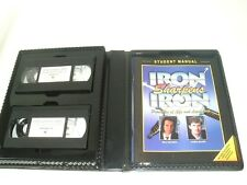 Iron Sharpens Iron VHS interactive training course leadership religious HTF 2000