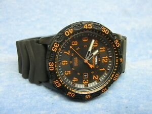 """Men's TIMEX """"Expedition"""" Military Watch w/ Backlight & New Battery"""