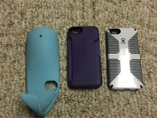 iPhone 4 4S 5 Phone Cases 3D Whale Silicone SPECK Lot