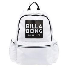 NEW + TAG BILLABONG 'STATEMENT' BACKPACK SCHOOL GYM BAG 22L WHITE WOMENS GIRLS