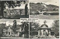 Ansichtskarte Solbad Bad Sulza in Thüringen - schwarz/weiß