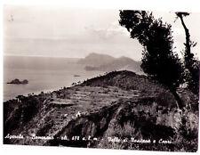 CARTOLINA - CAMPANIA - NAPOLI - AGEROLA 43 - VALLO DI POSITANO E CAPRI