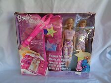 BARBIE & SKIPPER PAJAMA FUN TOTE BOX W/ DAMAGE 2003 NEW