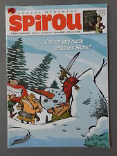 ►JOURNAL DE SPIROU N°4059 - 2016 - AUTOCOLLANTS SPOURI & FANTAZIZ