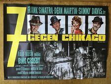 7 gegen Chicago (A0-Kinoplakat '64) - Frank Sinatra / Dean Martin