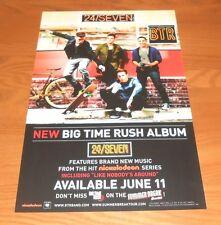 Twenty Four 24/Seven Big Time Rush Promo 2013 Poster 11x17