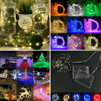 50/20/100 LED Battery Power Operated String Fairy Lights Christmas Xmas Party