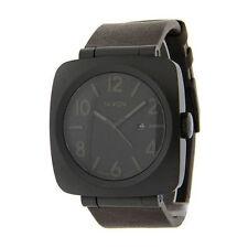Nixon Quartz (Automatic) Genuine Leather Strap Wristwatches