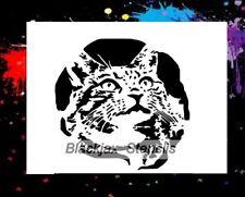 Domestic Cat 02 Airbrush Stencil,Template