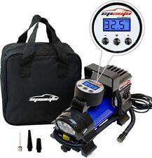 Tire Inflator Air Compressor Pump Portable 12V Cigarette Lighter Plug Auto Off