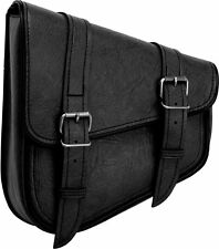 River Road Left Side Classic Swingarm Bag Black