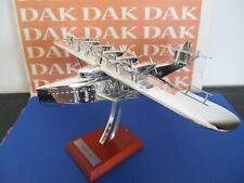 Die cast 1/200 Modellino Aereo cromato Aircraft silver plated Dornier Do X 1929
