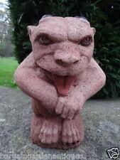 Haunted Gothic English Stone Guardian Gargoyle Garden Balcony Porch Statue