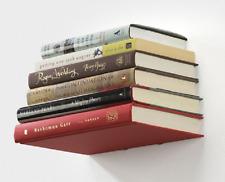 Conceal Invisible Floating Shelf Book Holder Wall Mount Umbra White Bookshelf