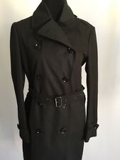 NWT BURBERRY BRIT LANGFORD MENS DOUBLE BREASTED TRENCH COAT JACKET SZ LARGE 12