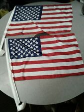 American Us Car Window Flag 144 pack - Happy 4th of July Decor !