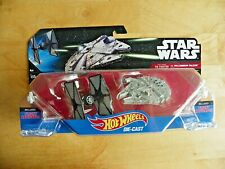 Hot Wheels Star Wars First Order The Fighter Vs. Millenium Falcon