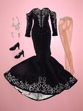 "Tonner - Black and White Ball Daphne Dimples 16"" Tyler Fashion Doll OUTFIT"