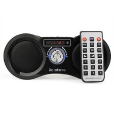 FM Stereo Radio Portable Digital Speaker MP3 Music Player w/ Remote Control
