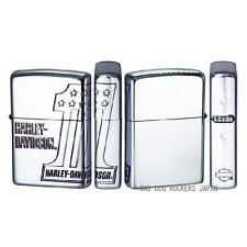 Zippo Harley Davidson Japan Limited 3-sides Etching Fumigation Silver HDP-35 F/S
