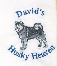Personalized Siberian HUSKY Dog OR Almost ANY Breed Long Sleeve T Shirt