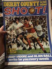 Shoot Football Magazine 5/9/70 1970 Derby Alan Ball Bobby Moore