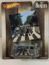 The Beatles Hot Wheels Pop Culture Real Riders Volkswagen T1 Panel Van FYP00