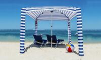 Portable Beach Cabana Tent Sun Shelter 180cm UPF50 Carry Bag Outdoor Stripes AU