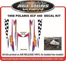 1998  POLARIS INDY XCF  440  Reproduction Decal Kit
