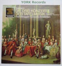 6.41152 - TELEMANN - Tafelmusik I-III BRUGEN Concerto Amsterdam - Ex LP Record