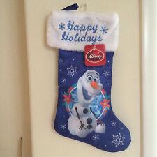 Disney Christmas Stocking Frozen Olaf Nwt