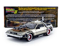 SUNSTAR - 1/18 - DE LOREAN DMC 12 - BACK TO THE FUTURE III - 2712