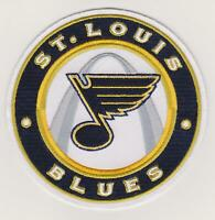 """St. Louis Blues Team Logo Jersey Patch 4.5"""" Iron On 3rd Jersey"""