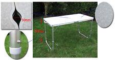 Alu Tisch Falttisch Camping Tisch 120 x 60 x 72cm