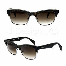Prada SPR11P HAQ-6S1 Dark Tortoise 54/19/145 Gradient Sunglasses Italy - New