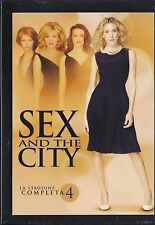 3 Dvd Box Cofanetto **SEX AND THE CITY ♦ STAGIONE QUATTRO 04** completa nuovo
