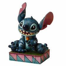 Official Disney Traditions Lilo and Stitch 'Ohana Means Family' Mini Figurine