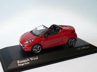 PROMO : Renault WIND de 2010  au 1/43 de Minichamps