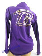 Victoria's Secret ** PINK **  PullOver Sequin Purple NFL BALTIMORE RAVENS XS NWT