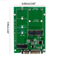 "mSATA SSD to SATA M.2 B / B+M KEY NGFF & 2.5"" III Board Adapter Converter Card"