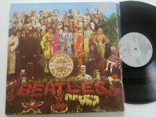 THE BEATLES Sgt Peppers RARE SPAIN GF LP GREY LABEL RED ODEON 1976 VINYL