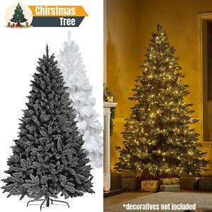 Christmas Colorado Pine Artificial Tree Traditional Xmas Bushy Tree Metal Stand