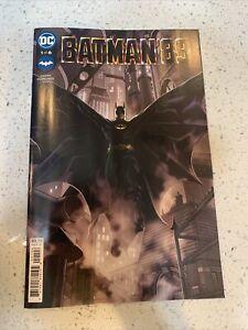 Batman' 89 (2021) DC Comics #1 (of 6) Hamm Quinones & Ito Black Cover