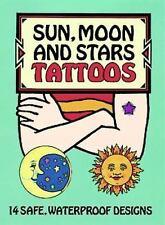 Dover Tattoos: Sun, Moon and Stars Tattoos by Anna Pomaska (1996, Paperback)