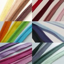flanged 2mm insert piping cord poly cotton bias cut - Per Metre - Many Colours
