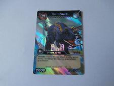 Carte Dinosaur King Carnotaure Edition de Base !!!