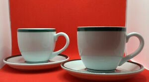 Lubiana cup and saucer set of Two, Made in Poland