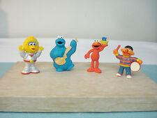 Sesame Street Muppets Henson Tara Toy Tyco Figure Lot of 4 SPACE BIG BIRD & ELMO