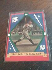 Babe Ruth The Called Shot 1992 Delphi No 9851 E N B C